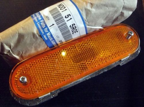 Reflector, front l/h, orange, Mazda MX-5 mk1 & mk2, left hand, N001515R0E